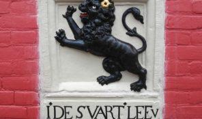 Swarte leeuw gerestaureerd